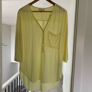 Anthropologie cloth and stone button down size s